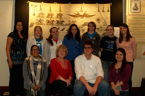 Aurora University's MST2200 Museum Exhibitions course
