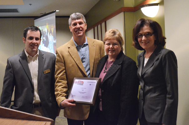 VVF honored for Institute for Collaboration at Aurora University donation