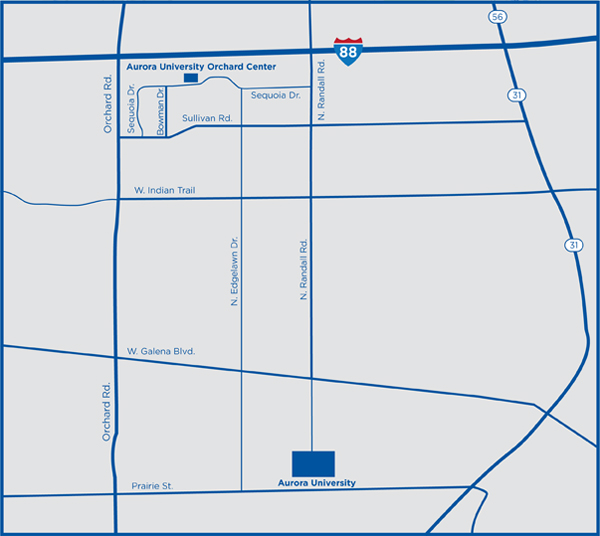 Orchard Center Map
