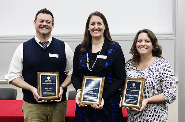 Jacobs Teacher Educator Award Recipients