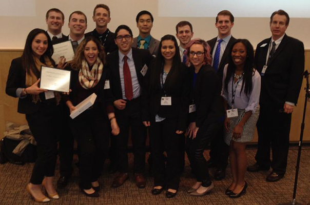 AU AMA Students at UWW-AMA Regional Collegiate Conference