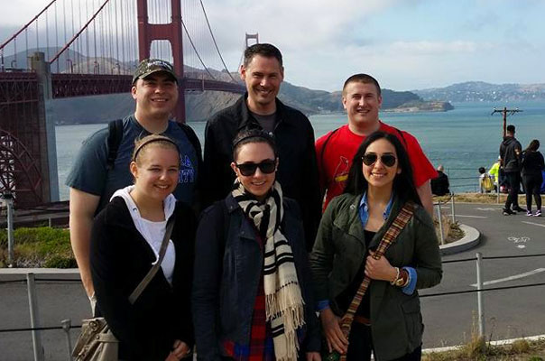 AU students attended the EdVenture Partners American Petroleum Institute Marketing Case Competition in San Francisco, California at the end of May.