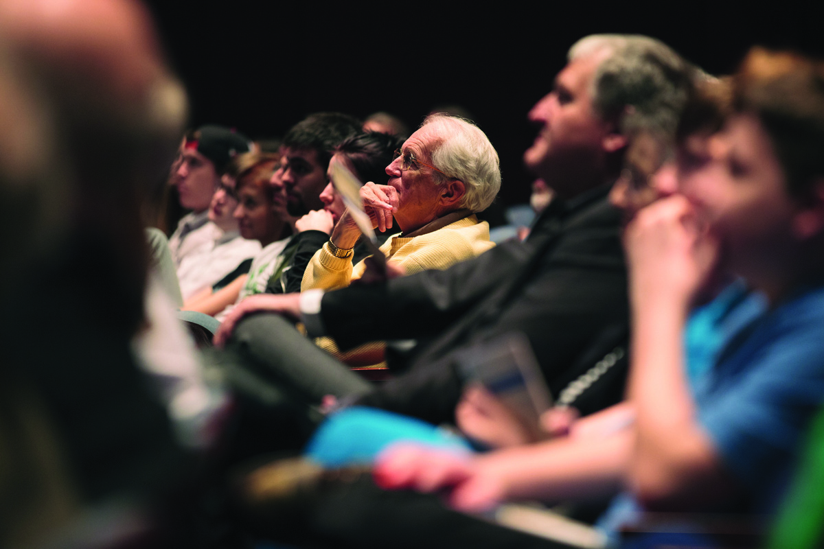 Arts and Ideas audience