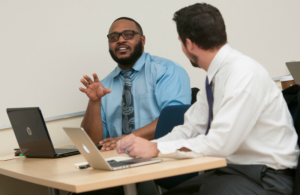 AU's graduate business programs feature flexible scheduling options which enable students to learn at nights, online and on some weekends. Perfect for the working professional.